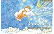 圣诞节雪人壁纸 节日壁纸