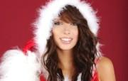 圣诞美女壁纸 欧美圣诞模特美女图片 1920 1200 圣诞模特圣诞美女高清壁纸 节日壁纸