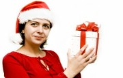 圣诞人物 欧美圣诞模特美女图片 1920 1200 圣诞模特圣诞美女高清壁纸 节日壁纸