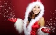 圣诞女孩 2 18 圣诞女孩 节日壁纸