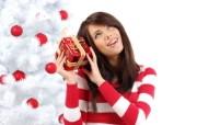 圣诞女孩 2 15 圣诞女孩 节日壁纸