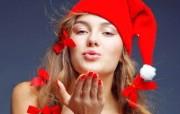 圣诞女孩 2 5 圣诞女孩 节日壁纸