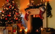 圣诞树装饰图片壁纸 圣诞新年装饰壁纸 节日壁纸