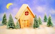 圣诞玩具场景图片壁纸 圣诞新年装饰壁纸 节日壁纸