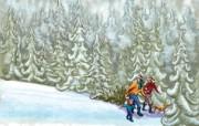 圣诞主题高清壁纸 节日壁纸