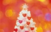温馨闪烁的圣诞 节日壁纸