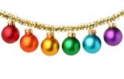 圣诞节彩球挂件图片素材 1920 1600 五彩圣诞节彩球壁纸 节日壁纸