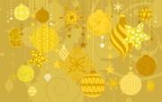 油画效果宽屏圣诞节壁纸 油画效果宽屏圣诞节壁纸 节日壁纸