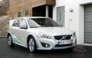 2011 Volvo C30 Electric Car 壁纸1 2011 Volvo 静物壁纸
