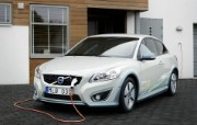 2011 Volvo C30 Electric Car 壁纸2 2011 Volvo 静物壁纸