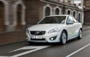 2011 Volvo C30 Electric Car 壁纸3 2011 Volvo 静物壁纸
