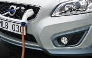 2011 Volvo C30 Electric Car 壁纸6 2011 Volvo 静物壁纸