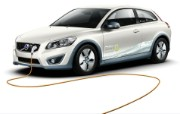 2011 Volvo C30 Electric Car 壁纸9 2011 Volvo 静物壁纸