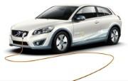 2011 Volvo C30 Electric Car 壁纸9 2011 Volvo 静物壁纸