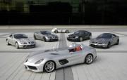 奔驰SLR限量终极版 Mercedes Benz McLaren SLR Stirling Mo 壁纸1 奔驰SLR限量终极版 静物壁纸