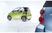 奔驰 Smart Fortwo 2011 壁纸10 奔驰 Smart F 静物壁纸