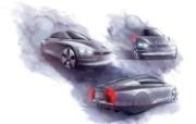 法兰克福2009 大众L1概念车 2009 Volkswagen L1 Concept 壁纸1 法兰克福2009:大 静物壁纸