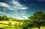 风力系统 风车 风力发电 壁纸24 风力系统风车风力 静物壁纸