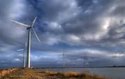 风力系统 风车 风力发电 壁纸28 风力系统风车风力 静物壁纸