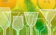 健康果汁健康饮料 静物壁纸
