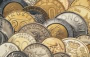 金融系列硬币专辑 静物壁纸
