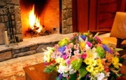 西式家庭壁炉 1 20 西式家庭壁炉 静物壁纸