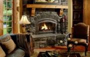 西式家庭壁炉 1 19 西式家庭壁炉 静物壁纸