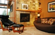 西式家庭壁炉 1 18 西式家庭壁炉 静物壁纸
