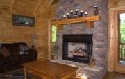西式家庭壁炉 1 12 西式家庭壁炉 静物壁纸