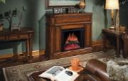 西式家庭壁炉 1 6 西式家庭壁炉 静物壁纸