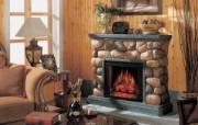 西式家庭壁炉 1 2 西式家庭壁炉 静物壁纸