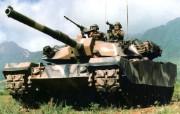 坦克与战士 静物壁纸