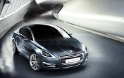 The 5 Peugeot 标志概念车 Concept Car 2011 壁纸2 The 5 Peug 静物壁纸
