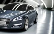 The 5 Peugeot 标志概念车 Concept Car 2011 壁纸3 The 5 Peug 静物壁纸