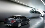 The 5 Peugeot 标志概念车 Concept Car 2011 壁纸7 The 5 Peug 静物壁纸
