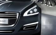 The 5 Peugeot 标志概念车 Concept Car 2011 壁纸9 The 5 Peug 静物壁纸