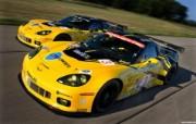 雪佛兰GT2赛车 跑 静物壁纸