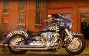 Yamaha摩托车 11年经典车型 壁纸10 Yamaha摩托车 静物壁纸