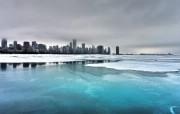 冰对湖 精选壁纸
