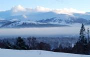 凯恩戈姆山脉雪景(多 精选壁纸
