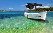 克罗地亚海滩 多分辨率 壁纸61400x1050 克罗地亚海滩 (多分 精选壁纸