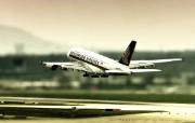 空中客车A380 多分辨率 壁纸21280x720 空中客车A380 ( 精选壁纸