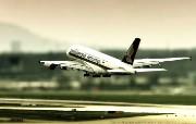 空中客车A380 多分辨率 壁纸51400x1050 空中客车A380 ( 精选壁纸