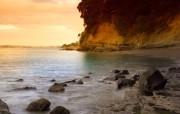 日落海滩 精选壁纸