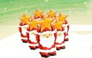 圣诞壁纸:可爱的雪人 精选壁纸