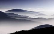 深山 雾 (多分辨率) 精选壁纸