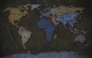 特色:牛仔布地图(多 精选壁纸