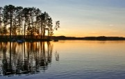 午夜太阳 瑞典 多分辨率 壁纸21280x720 午夜太阳瑞典(多分 精选壁纸