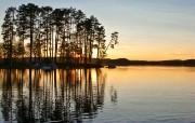 午夜太阳 瑞典 多分辨率 壁纸51280x1024 午夜太阳瑞典(多分 精选壁纸