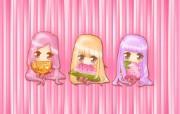 夏日粉粉可爱女孩 多分辨率 壁纸11024x768 夏日粉粉可爱女孩 ( 精选壁纸